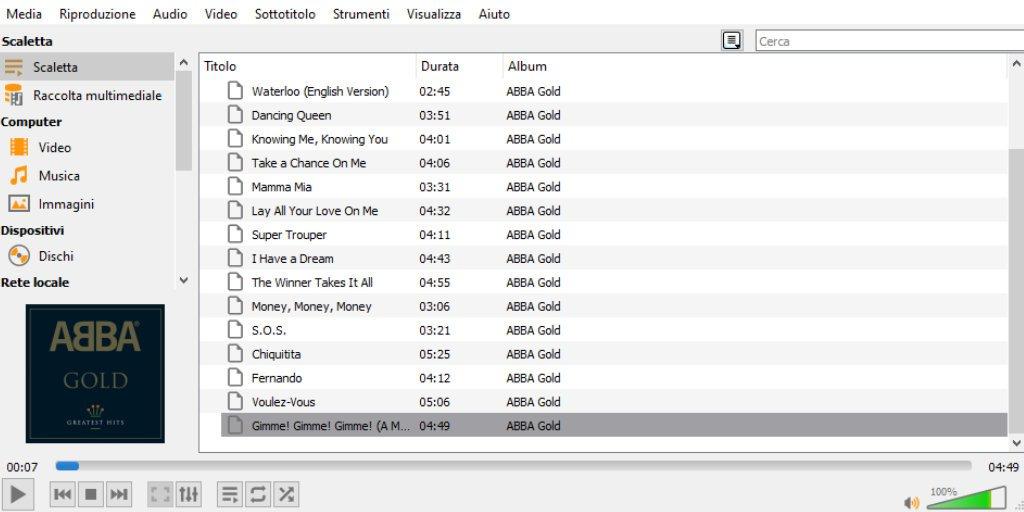 Migliori app per sentire musica sul pc VLC