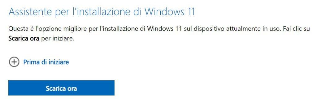 come passare da windows 10 a windows 11